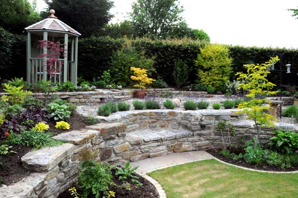 Paths And Patios | Split Level Garden Landscaping – Hartlepool ...