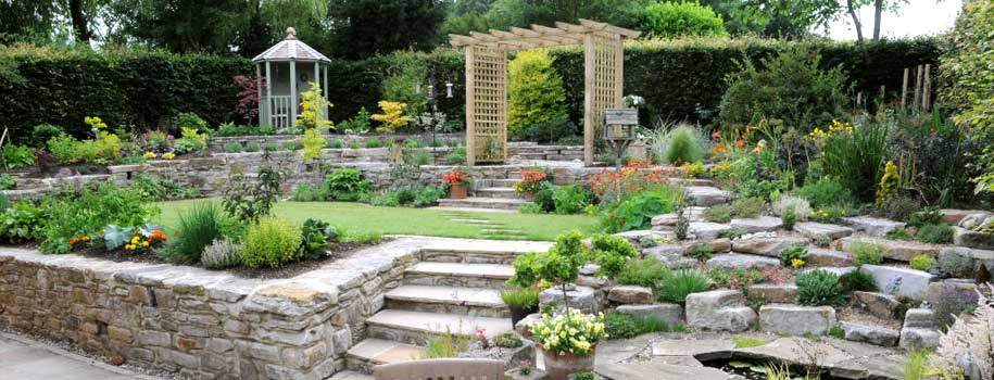 Split Level Garden Landscaping – Hartlepool