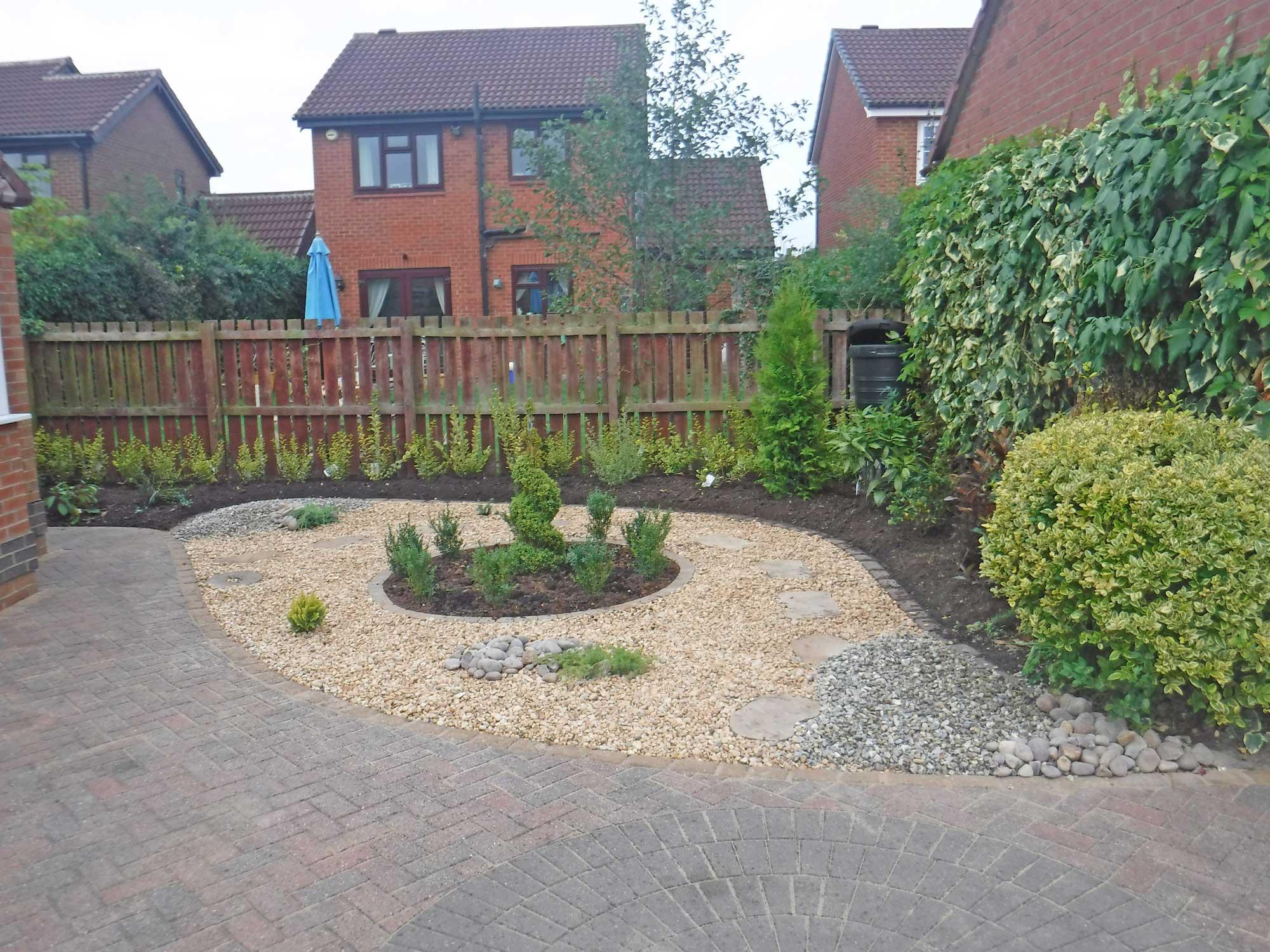 Ornamental Gravel Garden - Ingleby Barwick - Landscaping ...