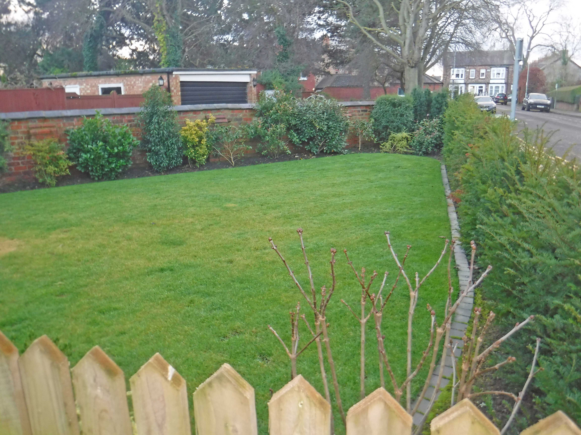 Garden, Wall and Gate - Eaglescliffe - Landscaping by ...